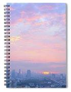 Sunrise Over Bangkok Spiral Notebook