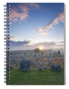 Sunrise Over Beaghmore Stone Circles Spiral Notebook