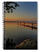 Sunrise Over Cayuga Lake Spiral Notebook
