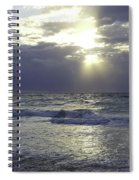 Sunrise Over Gulf Of Mexico Spiral Notebook