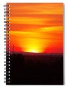 Sunrise Over Hanford  Spiral Notebook