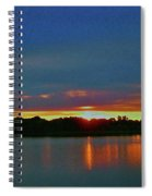 Sunrise Over Ile-bizard - Quebec Spiral Notebook