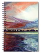 Sunrise Over Indian Lake Spiral Notebook