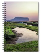 Sunrise Over Jeju Island Spiral Notebook