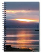 Sunrise Over Kachemak Bay Spiral Notebook