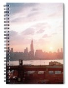 Sunrise Over Nyc Spiral Notebook