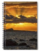 Sunrise Over Rabbit Head Island Spiral Notebook