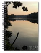 Sunrise Over The Huron River Spiral Notebook