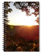 Sunrise Over The Mountain  Spiral Notebook