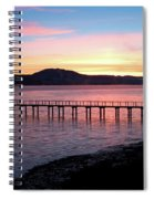 Sunrise Over Tomales Bay Spiral Notebook