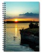 Sunrise Over Wilson Lake Spiral Notebook