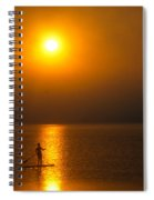 Sunrise Paddler Spiral Notebook
