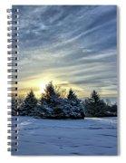 Sunrise Pines Spiral Notebook