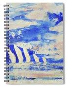 Sunrise Regatta Spiral Notebook