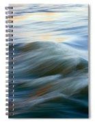 Sunrise Ripple Spiral Notebook