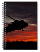 Sunrise Search And Rescue Spiral Notebook