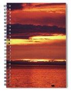 Sunrise Sekiu Washington Spiral Notebook