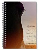 Sunrise Sunset Spiral Notebook
