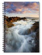 Sunrise Surge Spiral Notebook