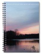 Sunrise Till Sunset Spiral Notebook