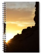 Sunrise Valley Of Fire Spiral Notebook