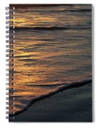 Sunrise Waves Spiral Notebook
