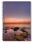 Sunrise Wisp Spiral Notebook