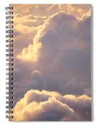 Sunrise With Shadows Spiral Notebook