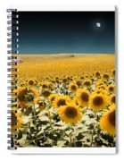 Suns And A Moon Spiral Notebook