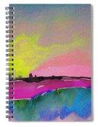 Sunset 09 Spiral Notebook