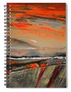 Sunset 10 Spiral Notebook