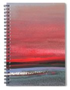 Sunset 12 Spiral Notebook