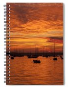 Sunset 4th Of July Spiral Notebook