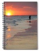 Sunset 5 Spiral Notebook