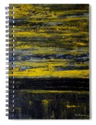 Sunset Abstract Spiral Notebook