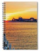 Sunset Across The Chesapeake Spiral Notebook