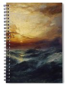 Sunset After A Storm Spiral Notebook