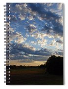 Sunset After The Storm Spiral Notebook