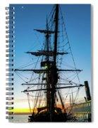 Sunset Ahoy Spiral Notebook