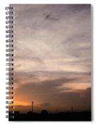 Sunset Ahuachapan 14 Spiral Notebook
