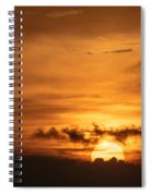 Sunset Ahuachapan 27 Spiral Notebook