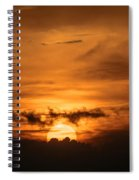 Sunset Ahuachapan 28 Spiral Notebook