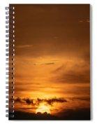 Sunset Ahuachapan 29 Spiral Notebook