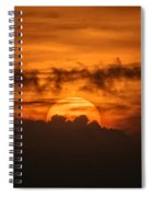 Sunset Ahuachapan 33 Spiral Notebook
