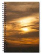 Sunset Ahuachapan 4 Spiral Notebook