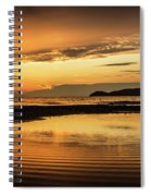 Sunset And Reflection Spiral Notebook