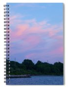 Sunset Aquidneck Island Spiral Notebook