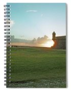 Sunset At El Morro Spiral Notebook