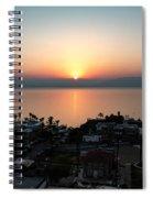 Sunset At Galilee Spiral Notebook