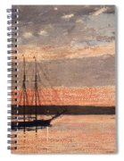 Sunset At Gloucester Spiral Notebook